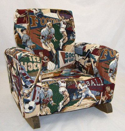 Sports Tapestry Chair