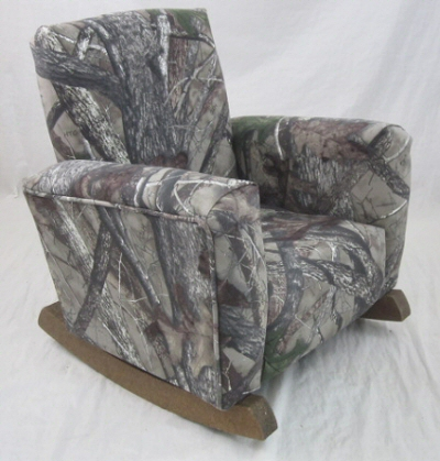 Camouflage Toddle Rock rocking Chair
