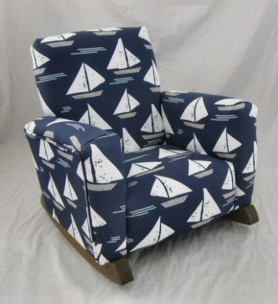 Cape May Indigo Chair