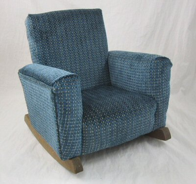 Cozy Blue Family Chair