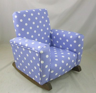 Lavender Polka Dots Chair