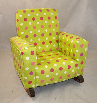 Lime Dotz Chair
