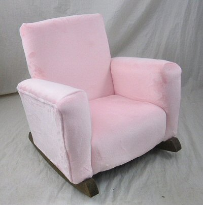 Pink Minky Cuddle Chair