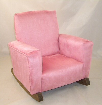 Rose Suede Chair