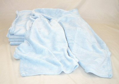 Blue Micro Fleece Blanket