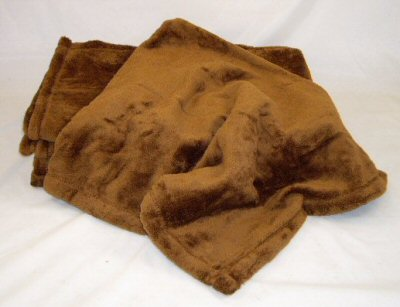 Chocolate Micro Fleece Blanket