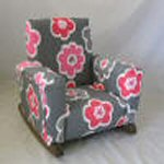 Ikat Flamingo Petal Toddle Rock