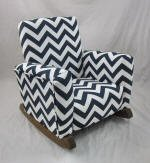 Zig Zag Navy Toddle Rock