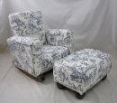 Blue Circus Toile & Toddleman
