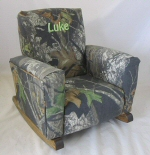 Camouflage Toddle Rock Personalized with Sponge in Sage