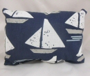 Cape May Indigo Puff Pillow