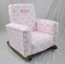 Fulton Bella Toddle Rock Personalized in Medium Pink in Sponge