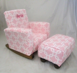Gotcha Pink Toddle Rock Personalized with Sponge in Hot Pink & Toddleman