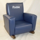 Navy Lexus Toddle Rock Personalized with Sponge in White